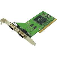 2-портовая плата RS-232 для шины Universal PCI Moxa CP-102U